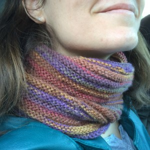 snood au point de godron