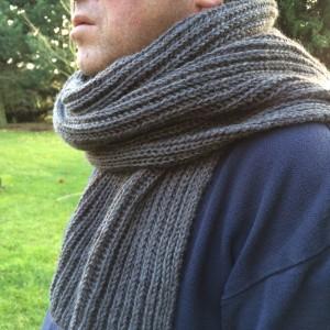 Apprendre a tricoter une echarpe pour homme - Tricoter une echarpe homme ...