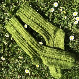 tricoter des chaussettes