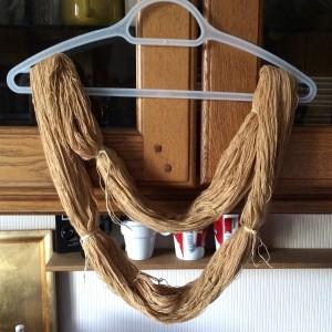 laine safran curcuma