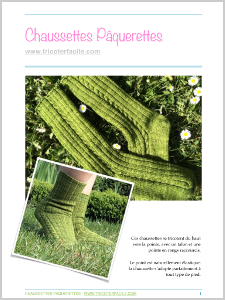 tuto tricot chaussettes