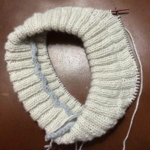 tricot doublure bonnet