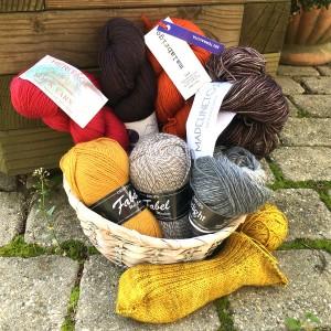 laine à chaussette