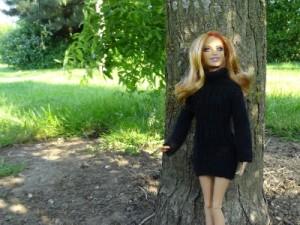 tricoter robe barbie