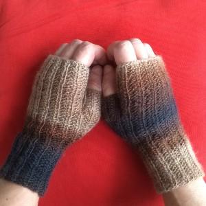 modèle mitaines à tricoter