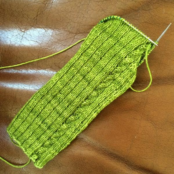 tige chaussette torsades - Tricoter facile