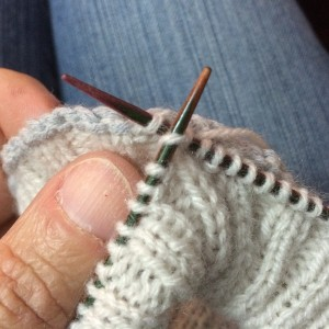 tricoter mailles ensemble 2