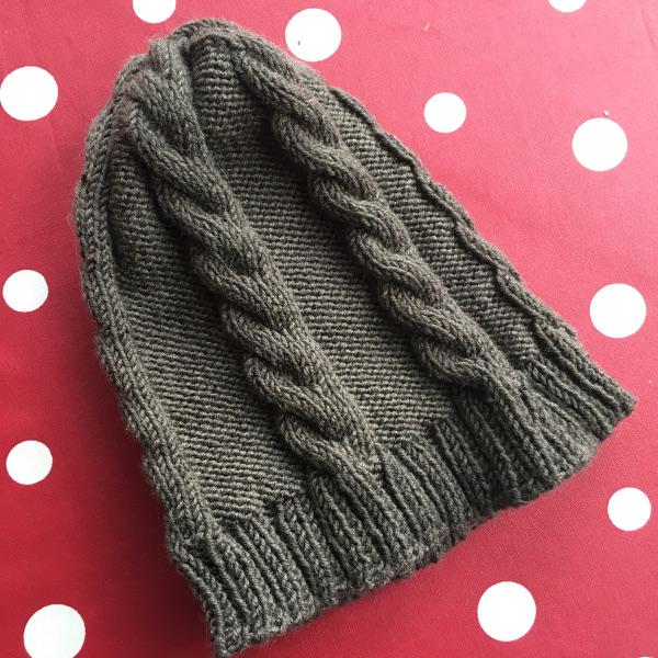 tricoter un bonnet a torsades